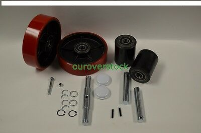 Mobile ECO I-55 Pallet Jack Complete Wheel Kit