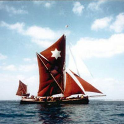 Sailing on a Thames Barge for Two