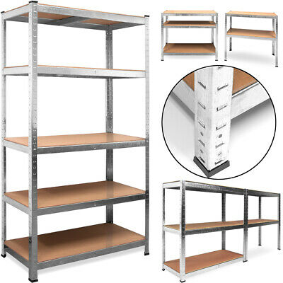 Storage Shelving Unit Heavy Duty Garage Metal Shelf Rack Warehouse Industrial