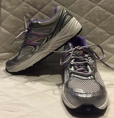 New Balance 840v2 Womens Running Shoes W840SP2 Silver/Purple Size 7B