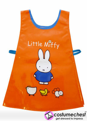 Miffy Red Childrens Art and Craft Waterproof Painting PVC Tabard Apron by Shreds