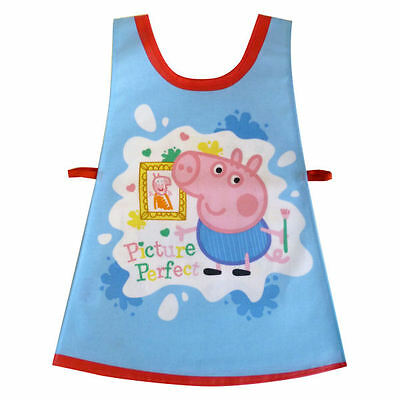 Peppa Pig Picture Childrens Art and Craft Waterproof Painting Apron by Shreds