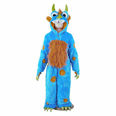 3-5 years Blue Monster Childrens Costume by Travis Dress Up By Design