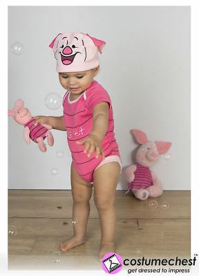 3-6 months Piglet Bodysuit with Hat By Disney Baby Costume