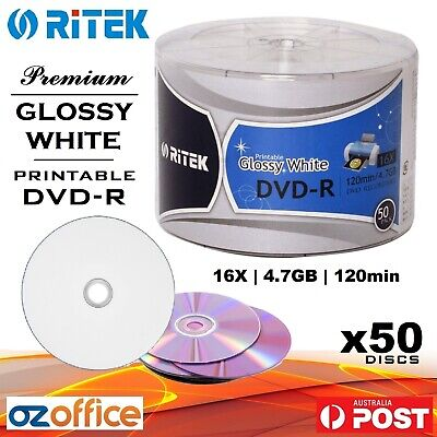 PREMIUM GOLD DVD 50 x TDK DVD-R 16X TDK Gold Discs in Spindle 4.7GB A+ Grade