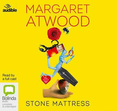 Stone Mattress: Nine Tales by Margaret Atwood Compact Disc Book Free Shipping!