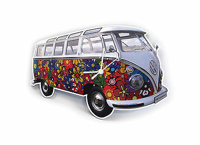VW t1 Camper Wall Clocks - VW Collection by Brisa - Official Volkswagen Gifts