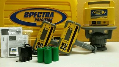Trimble Spectra Precision LL500 Level W/ ((2)) HL700 RECEIVERS & RECHARGE KIT