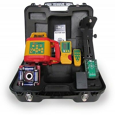 Pls Hvr 505 Green Beam Laser Level Kit Hvr 505G Pls-60579