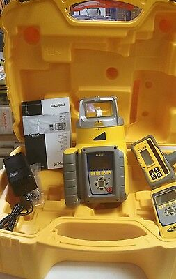 Trimble Spectra Precision GL612N Level HL750 RECEIVER RC602 REMOTE Single Slope