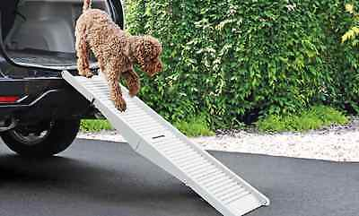 Folding Dog Ramp Pet Mobility Steps Stairs Portable Ladder Gear Travel Car Aid