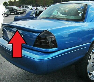 FOR FORD CROWN VICTORIA  UN-Painted Marauder Style Rear Spoiler Wing 1998-2008