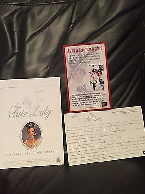 Barbie Doll ELIZA DOOLITTLE MY FAIR LADY White Evening Gown Collector's Edition