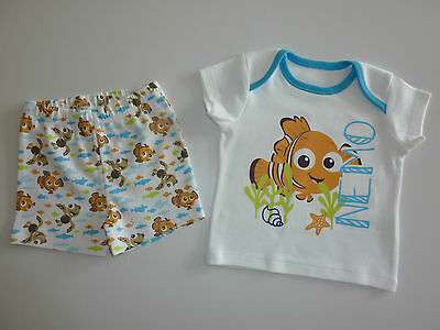 DISNEY Really Cute Little White NEMO PJ's NEW