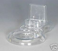 Set of 12 Clear Acrylic Tea Cup and Saucer Stand Made in USA  holder display new