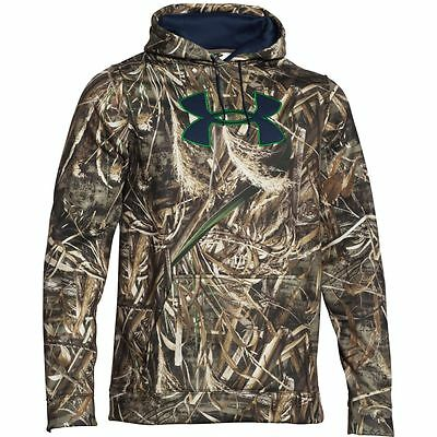Under Armour Mens Big Logo Realtree Max 5 Camo Hoody 1249745-902 Most Sizes