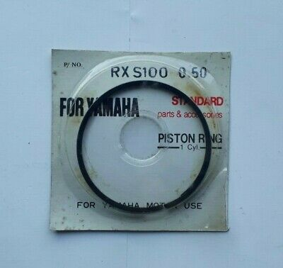 Yamaha Rxs100 Piston Rings Either 0.25Mm Or 0.5Mm Oversize