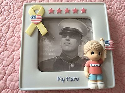 "PRECIOUS MOMENTS Welcome Home Frame ""My Hero""  744005 2007 NIB"