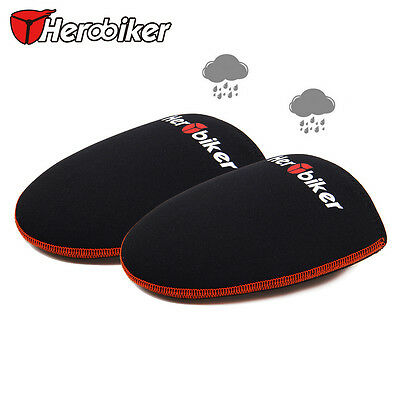 Herobiker Cycling Bicycle Windproof Shoe Covers Protector Warmer Half Foot Case