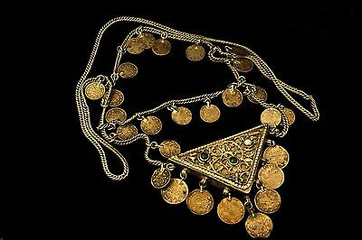 Antique Original Perfect Silver Ottoman Islamic Anatolian Necklase