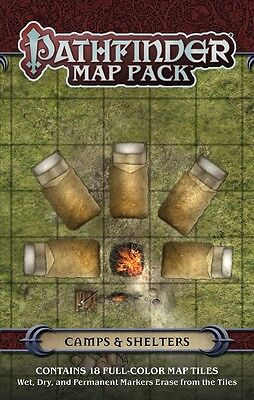 Pathfinder Map Pack: Camps and Shelters PZO 4056