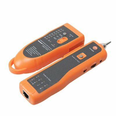 TESTER PROFESSIONALE CAVI J45-RJ11 Phone LAN Network Wire Tracker Scanning Devic