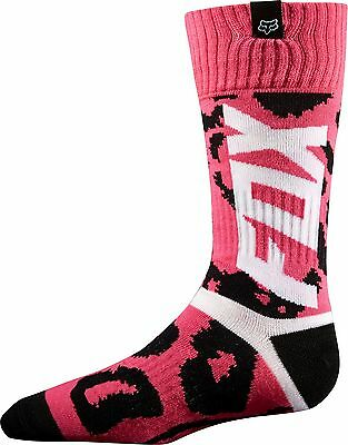 Fox Racing Marz Black/Pink Performance Motocross MX ATV Youth Girls Riding Socks