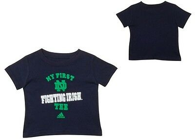 455f64028aad New NWT Notre Dame Fighting Irish adidas NCAA Infant My First T-Shirt