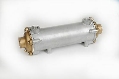"Marine Heat Exchanger 13 1/2"" long by 3 1/2"" diameter"