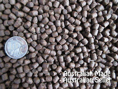 AQUAPONIC AQUACULTURE GROW FLOATING 6mm (500g-20kg) Fish Food Pellet