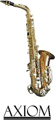 Axiom Student Alto Sax - Beginners Saxophone with case
