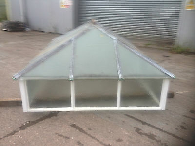 1960's Reclaimed Large Crittall Wrought Iron Sky Light / Window