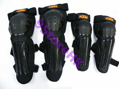 ATV Knee and Elbow Guards Pads MT BMX Offroad Motorcycle paintball skate Bike