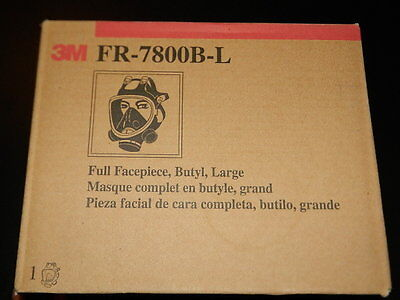 New 3M Fr-7800B First Responders Cbrn Mask Large Full Facepiece Full Face