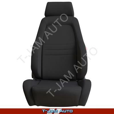 Adventurer 4x4 4WD Bucket Seat Black Cloth ADR Approved Toyota Hilux