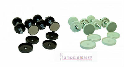 NEW Dreambaby Replacement Parts Security Baby Safety Gate Bolts Caps Screws Pads