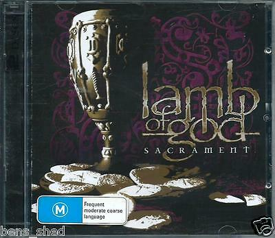 Lamb Of God *sacrament* Original 2006 Us Metal C D &  Dvd Set Like New