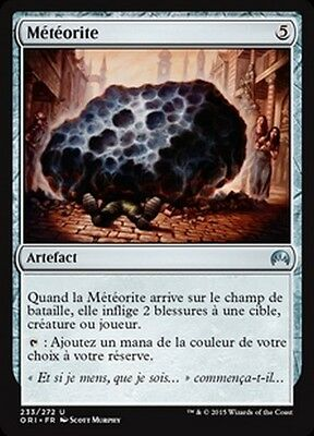 MTG Magic ORI - (4x) Meteorite/Météorite, French/VF