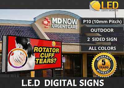 P10 4FT x 8FT (2 SIDED)(Full color) Programmable OUTDOOR LED Digital Sign Board