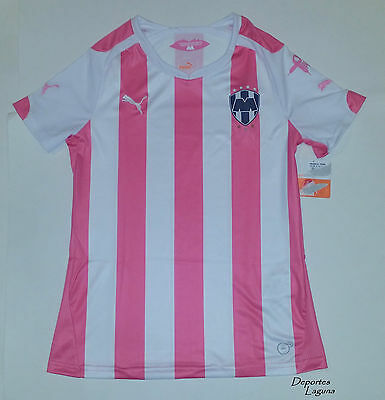 """Rayados De Monterrey Puma """"project Pink"""" Women's Jersey Size Xs  Mexico Soccer"""