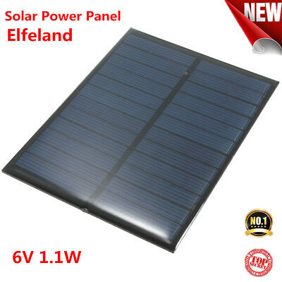 6V 1.1W 200mA Solar Power Panel Poly for Cell Battery Charger Solar Lighting