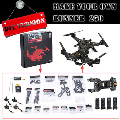 Original Walkera Runner 250 Kit FPV Quadcopter DIY BNF Kit Frame Version