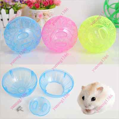 Rodent Mice Hamster Gerbil Rat Jogging Play Exercise Plastic Small Ball Toy Yuno