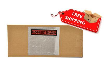 """10000 Packing List Enclosed slip Holders Envelope 4 1/2"""" x 6"""" Pouch"""