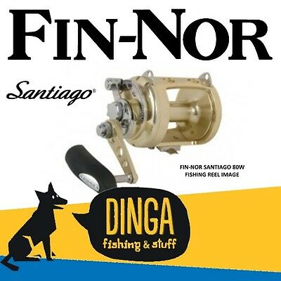 Fin-Nor Santiago SA80W Overhead Game Fishing Reel