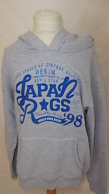 Sweat Japan Rags Gris Taille 14 ans à - 48%