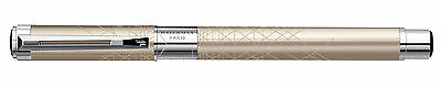 Waterman Perspective Champagne  Rollerball  Pen New In B