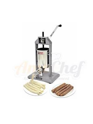 New Churro Maker, Manual, 2 adapters,5 Lb Capacity Uniworld UCM-STV3