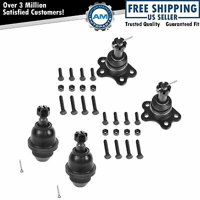 Ball Joint Kit Upper & Lower Set of 4 for Chevy GMC Truck 4WD New