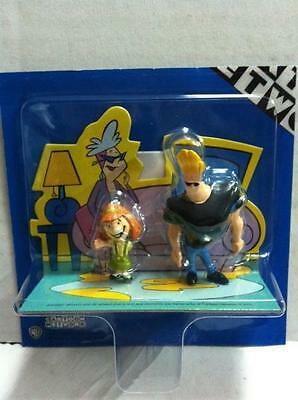 "Cartoon Network JOHNNY BRAVO mini figures 2,5"" MIB"